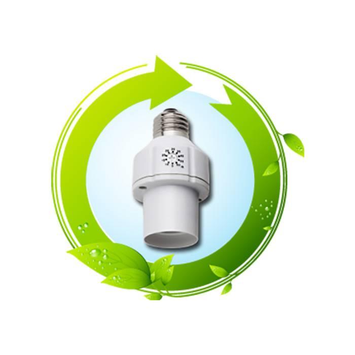 Ecosavers Lampfitting met tijdschakelaar