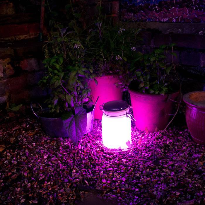 Sun Jar  SunJar weckpot lamp