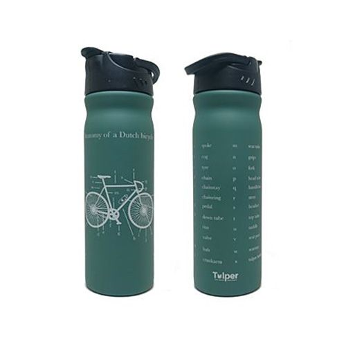 "Tulper RVS drinkfles ""Fiets""500 ml"