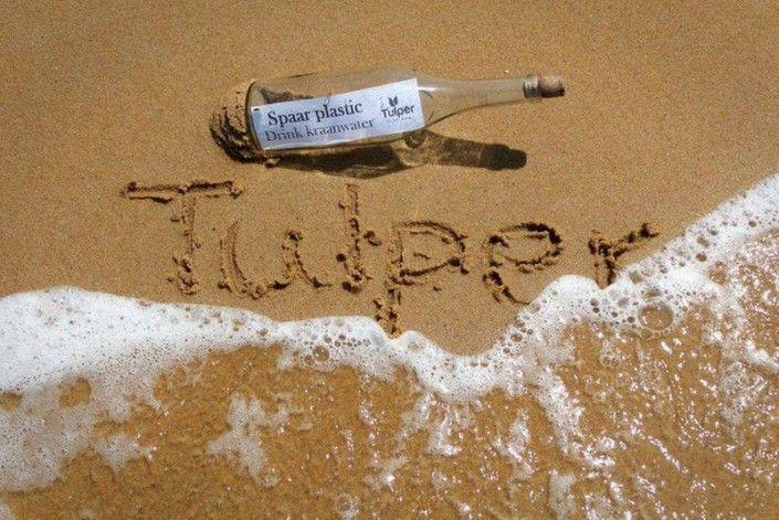 """Tulper RVS drinkfles """"Ocean"""" 500 ml"""