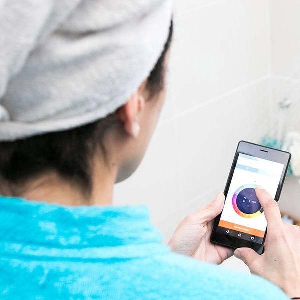 Hydrao Hydrao water besparende douchekop met LED en app