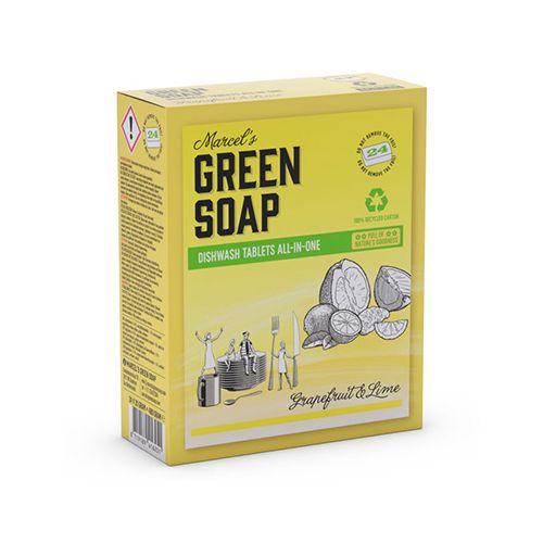 Marcel' s Green Soap eco vaatwastabletten 24 stuks