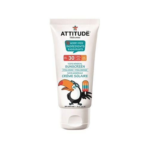 Attitude Living Natuurlijke zonnebrandcreme baby SPF 30