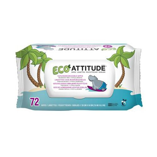 Attitude Living babydoekjes 72 st.