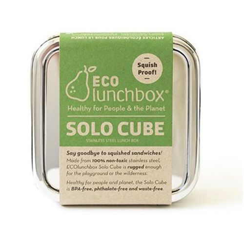 Eco lunchbox lunchbox Solo Cube RVS