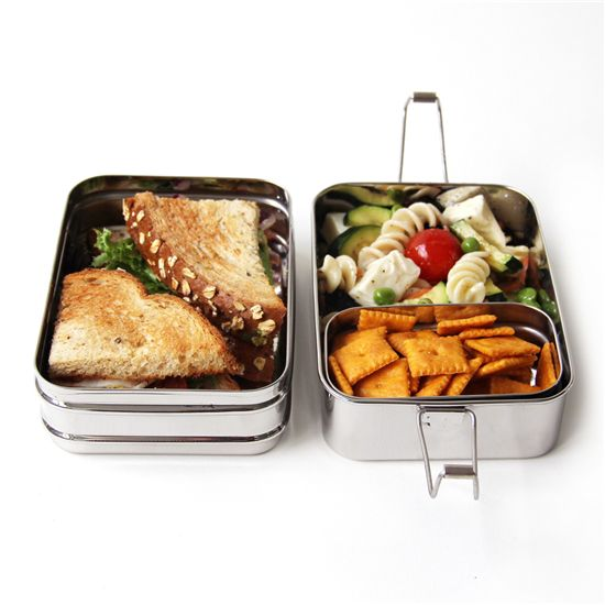 Eco lunchbox lunchbox 3 in 1 bento