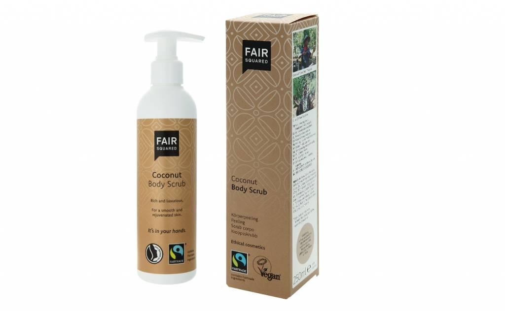 Fair Squared Body Scrub kokos