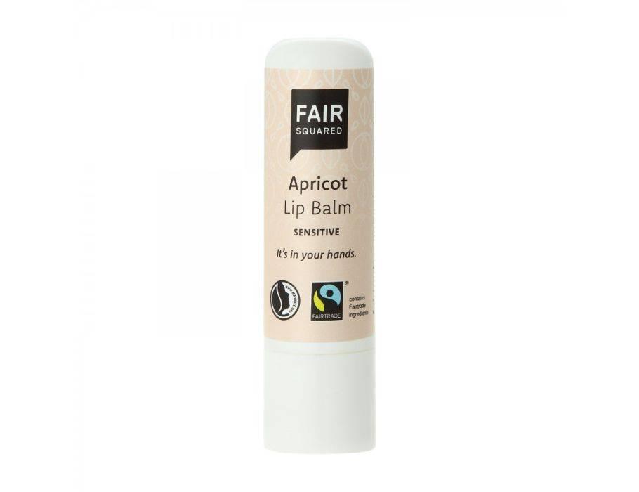 Fair Squared fairtrade lippenbalsem Sensitive Apricot