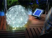 Esotec tuinverlichting zonne-energie Aluminium Wire Bal