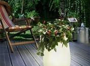 Esotec solar tuinverlichting LED bloempot