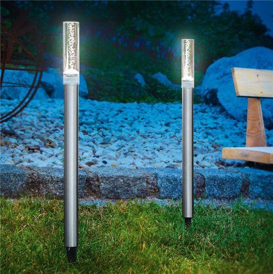 Esotec solar tuinverlichting LED lichtstaaf set