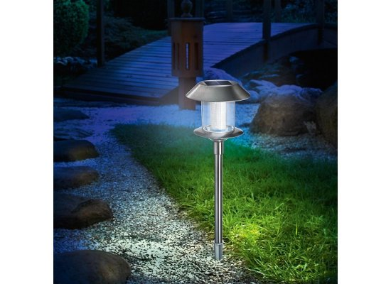 Esotec solar tuinverlichting LED Swing Duo Color