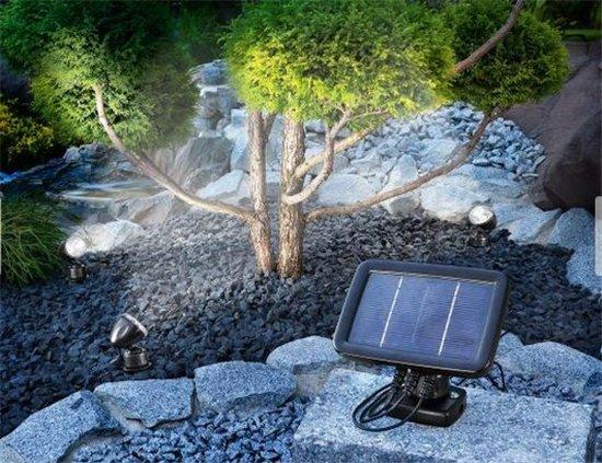 Esotec solar tuinspots Quattro power