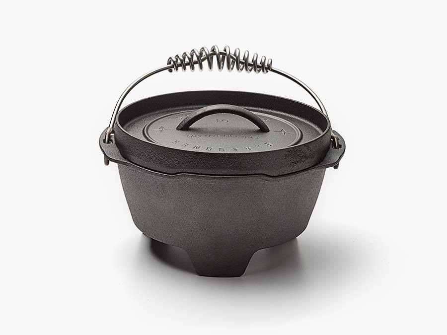 "Barebones Living 10"" Cast Iron Dutch Oven"