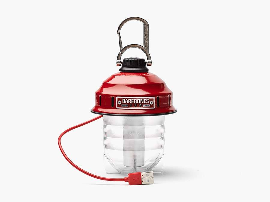 Barebones Living tuinlantaarn LED Camping Beacon red