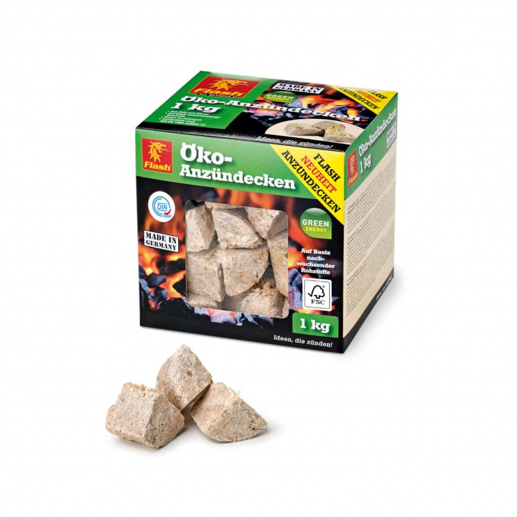 Boomex aanmaakblokjes driehoek houtchips