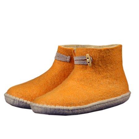 Esgii vilten herenslof High Boots geel