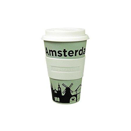 Zuperzozial koffiebeker to go - 4 varianten