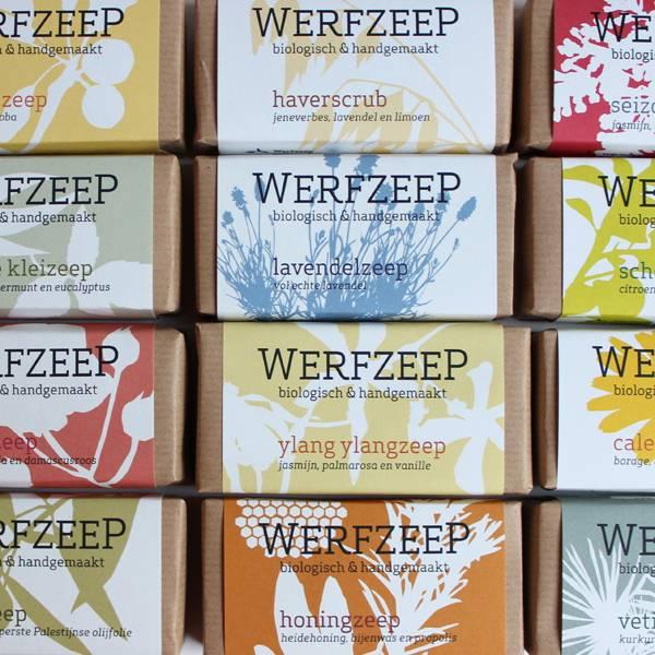 Werfzeep haverscrub - natuurlijke zeep
