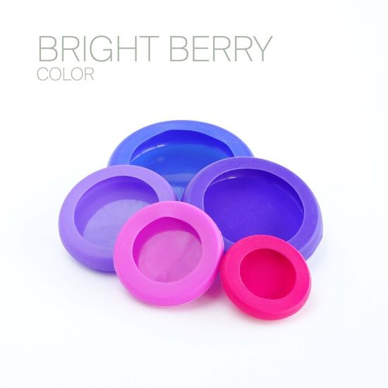 Foodhuggers set van 5 - Bright Berry