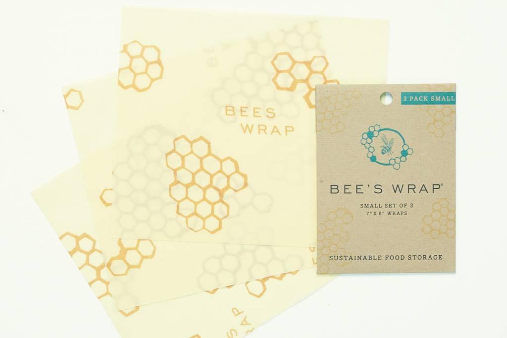Bee's Wrap bijenwasdoek set van 3 small