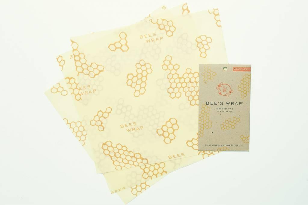 Bee's Wrap bijenwasdoek set van 3 large