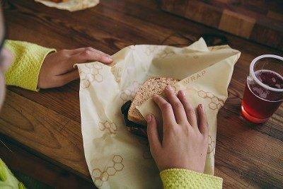 Bee's Wrap bijenwasdoek sandwichwrap