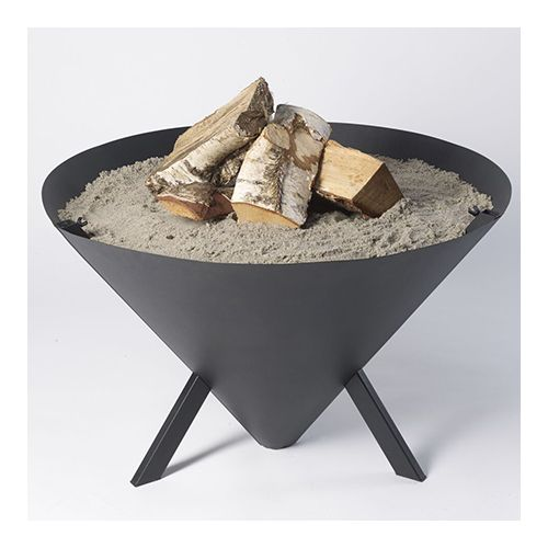 Bon-Fire driepoot BBQ set kegel met vuurschaal