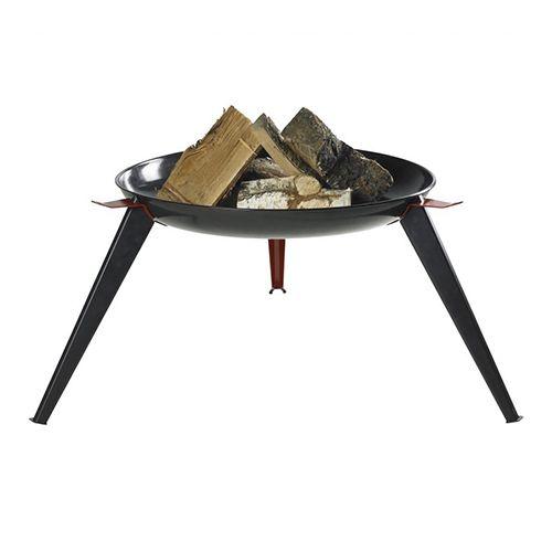 Bon-Fire vuurschaal hoog model zwart