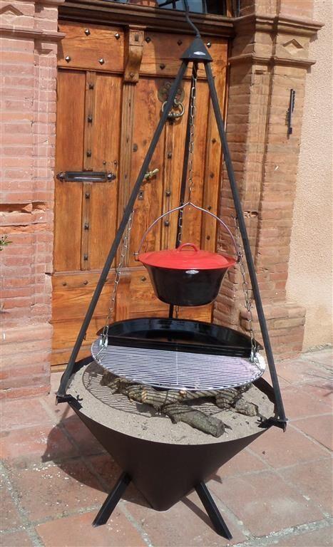 Bon-Fire halve BBQ pan