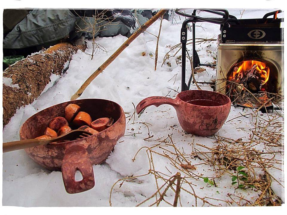 Kupilka campingservies  mok met lepeltje 21