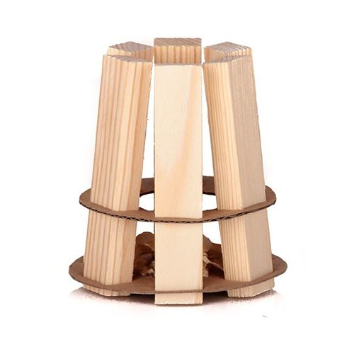 Woodson firestarter 100 st. in luxe houten kist
