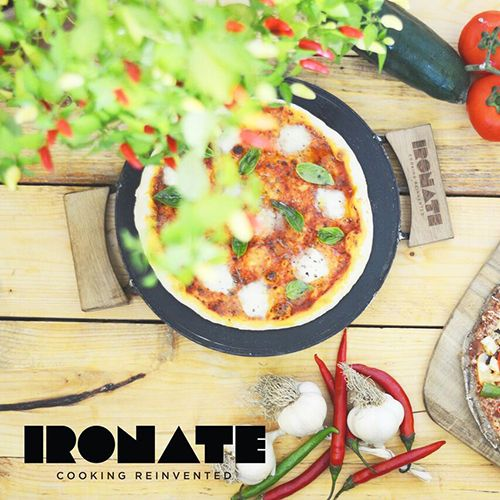 Ironate pizzapan