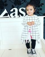 The Baby Closet Grid dress
