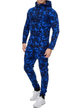 Camo Pak Blauw (Maat L)