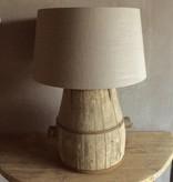 De Appelgaard Lamp op Houten Vat