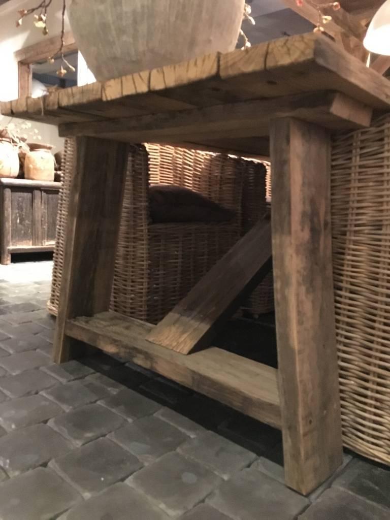 De Appelgaard Tafel Van Oude Wagondelen