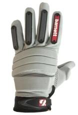 FLG-02 Guanti da football americano da lineman fit, grigio