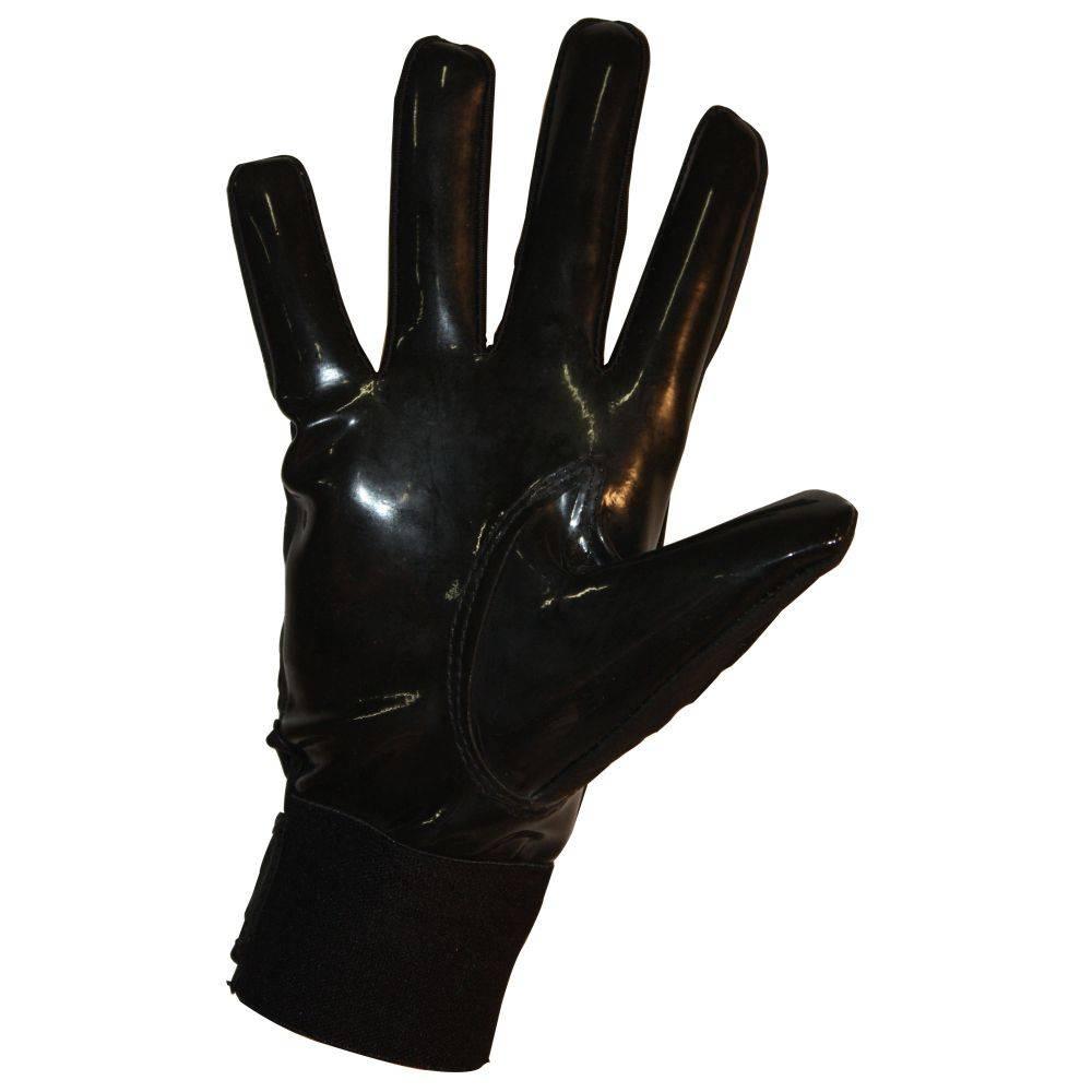 FKG-03 Guanti da football americano alto livello, linebacker, black