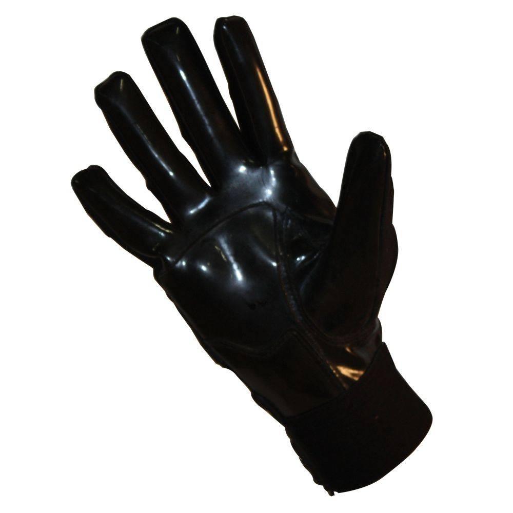 FLG-03 Guanti da football americano pro da lineman, nero