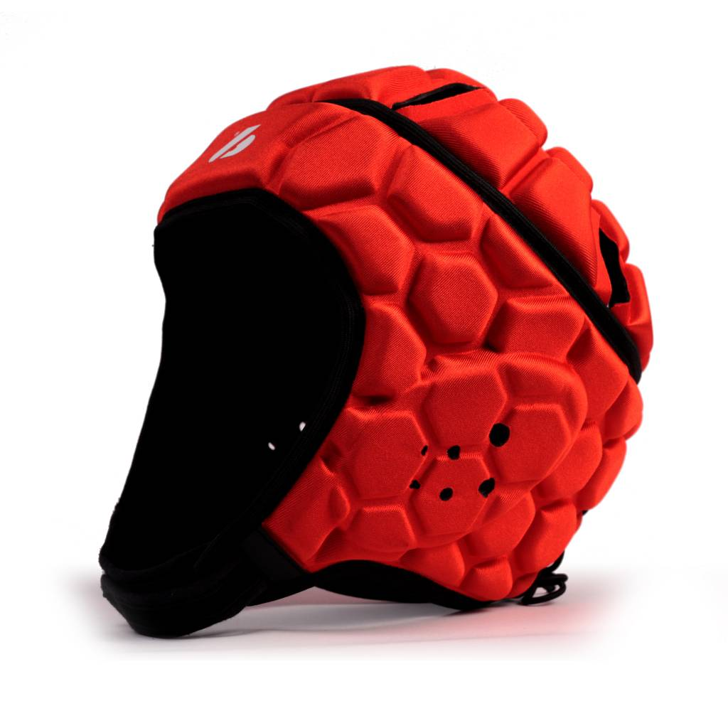 HEAT PRO casco da rugby competizione, rosso