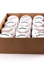 OL-1 Palle da baseball, competizione, 9'', bianco, 12 pz