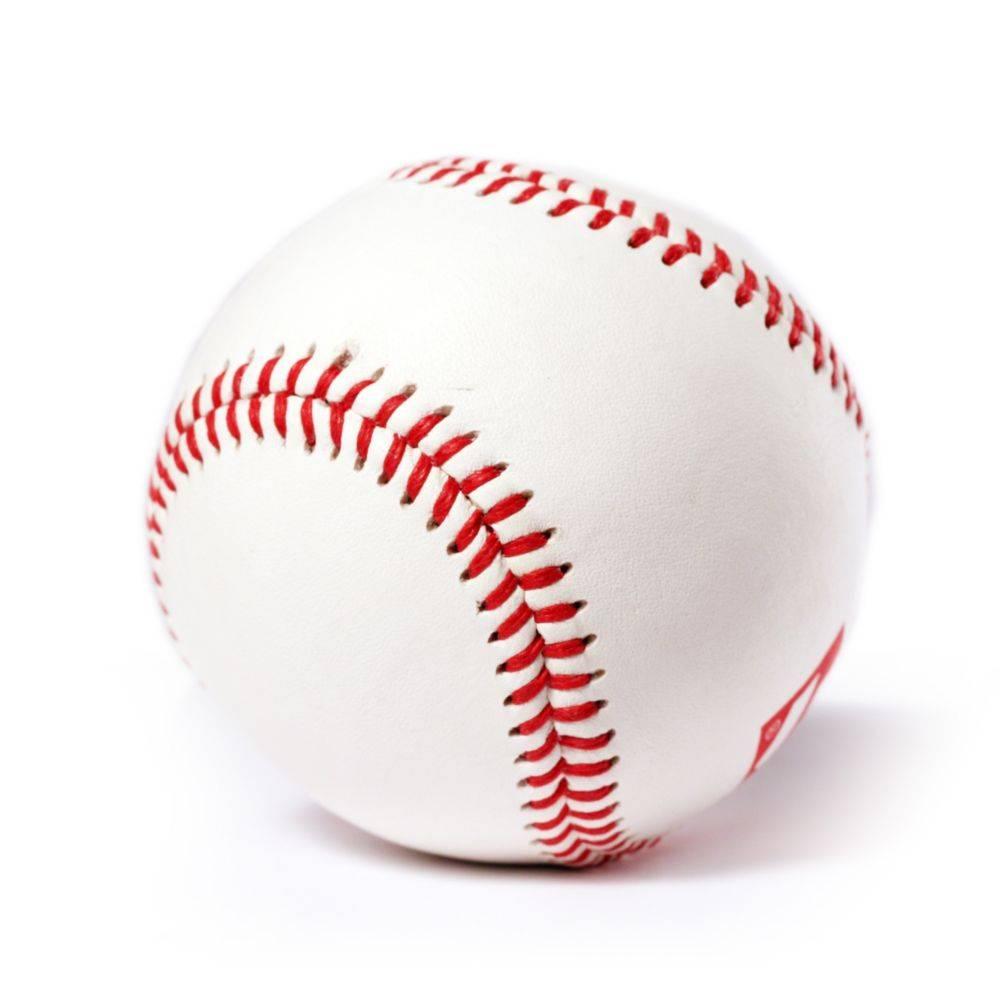 BS-1 Palle da baseball, principianti, 9'', bianco, 2 pz