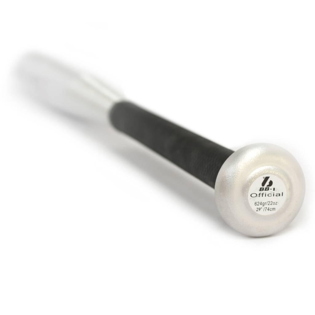 BB-1 Mazza da baseball in alluminio, grigio metallizzato