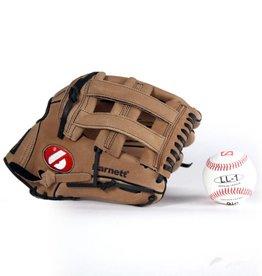 "GBSL-1 Kit da baseball, senior – Guantone di pelle, palla (SL-127 12,7"", LL-1 9"")"