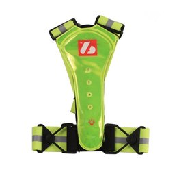 LW-1 Gilet fluo – Fluorescent vest with LED lights and reflective stripes