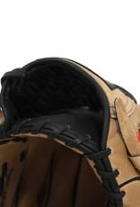 SL-127 Guantone da baseball, pelle, outfield, size 12.7'', Marrone