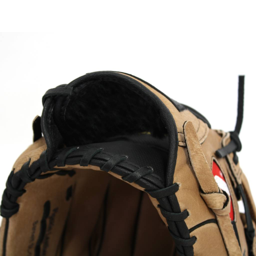 SL-130 Guantone da baseball, pelle, outfield, size 13'', Marrone