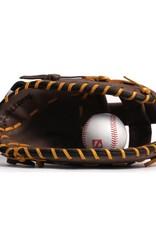 Barnett GL-301 concorrenza 1er baseball guanto da baseball, cuoio genuino, adulto, marrone