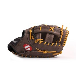 barnett Barnett GL-301 concorrenza 1er baseball guanto da baseball, cuoio genuino, adulto, marrone